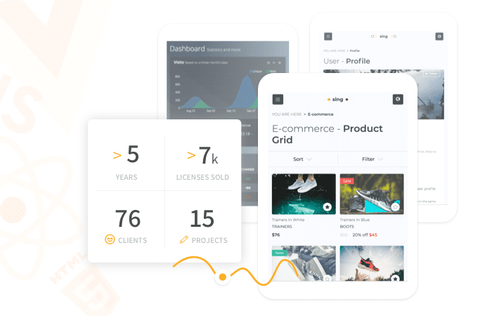 From selling admin templates on a marketplace to creating our own platform. A story of Flatlogic