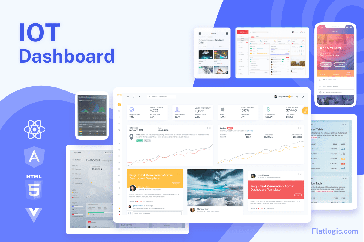 How to build an IoT dashboard