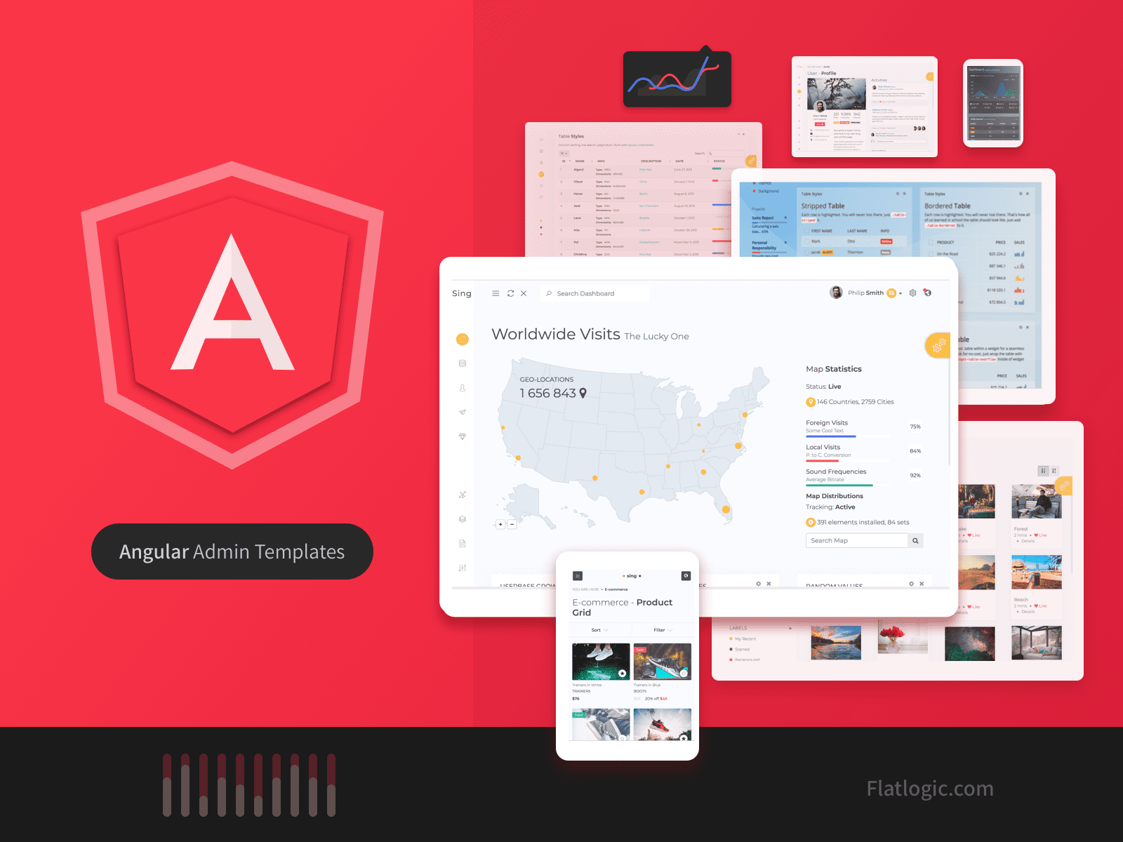 Top Angular Admin Templates in 2020