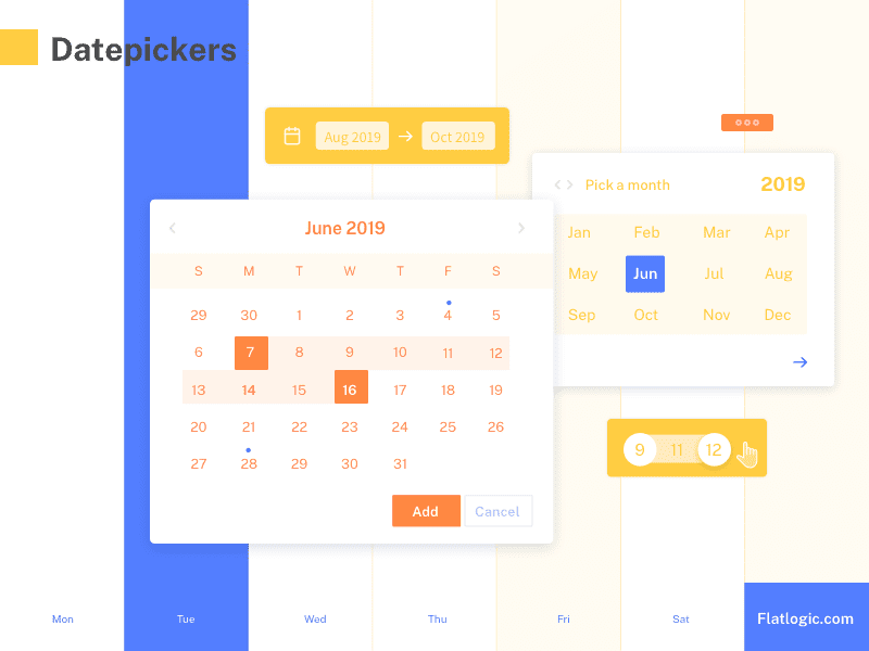 Top Date Picker JavaScript Plugins and Libraries