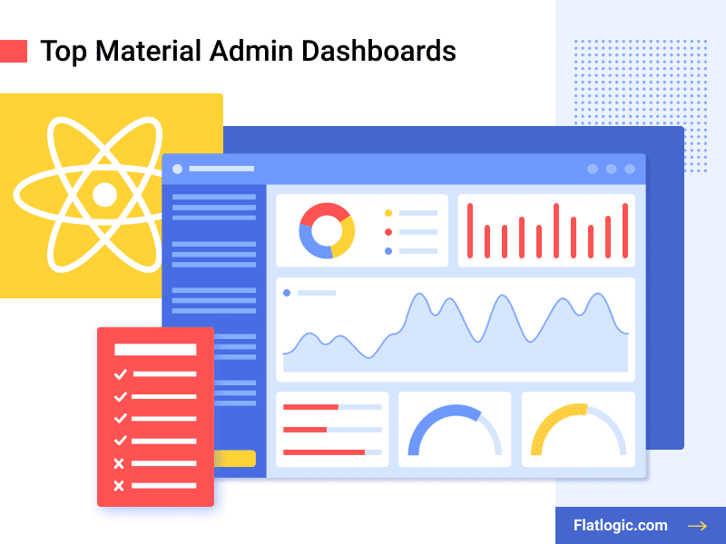 Top 9 Material Admin Dashboards