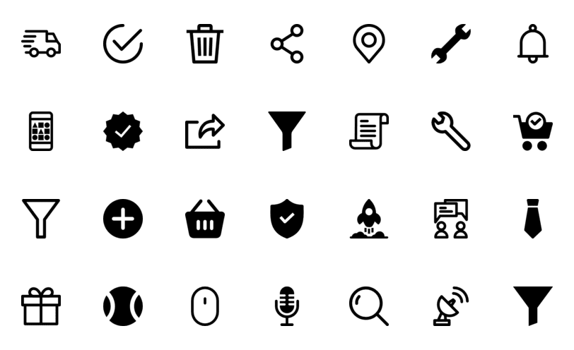 20 best icon packs for web developers and designers flatlogic blog 20 best icon packs for web developers