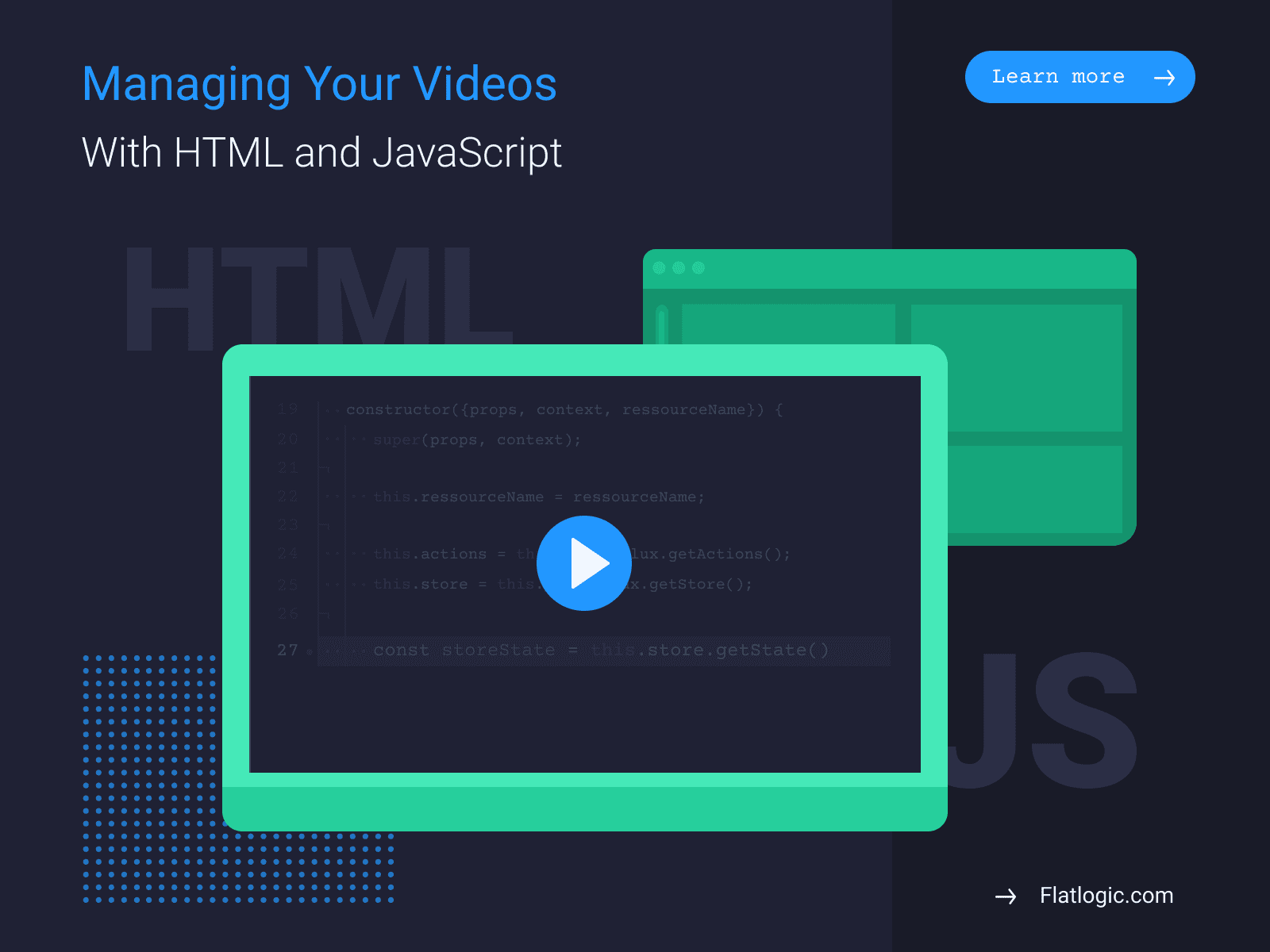 Using HTML and JavaScript to Manipulate Videos