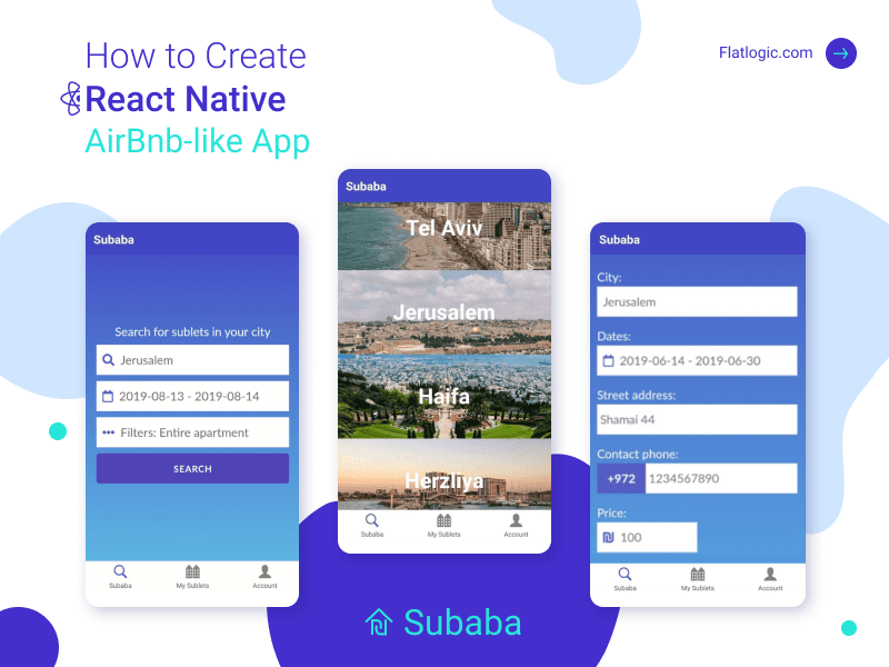 How to Create React Native AirBnb-like App