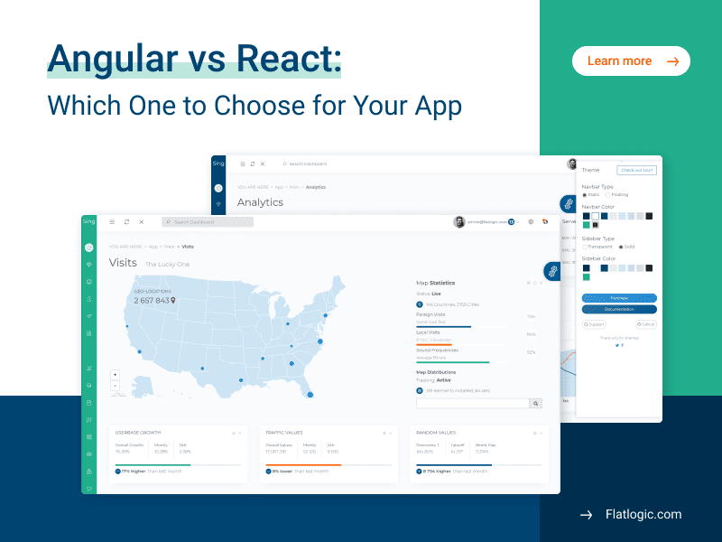 Angular vs React: Which One to Choose for Your Web App