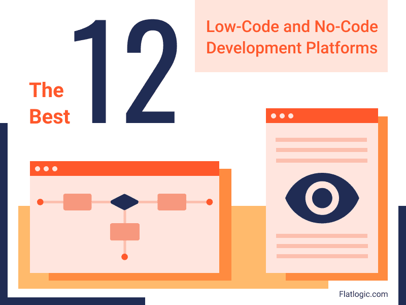 A Review of 12+ Low-Code and No-Code Development Platforms