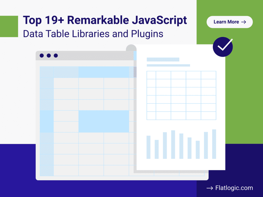 JavaScript Data Table Libraries and Plugins