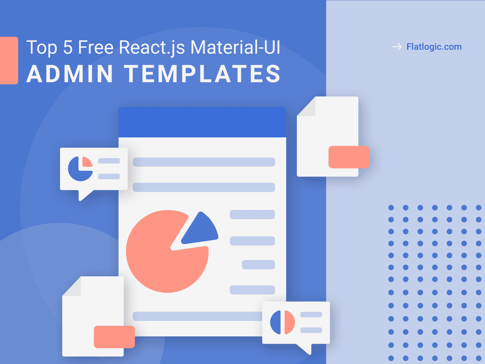 Top 5 Free Awesome React.js Material-UI Admin Dashboard Templates