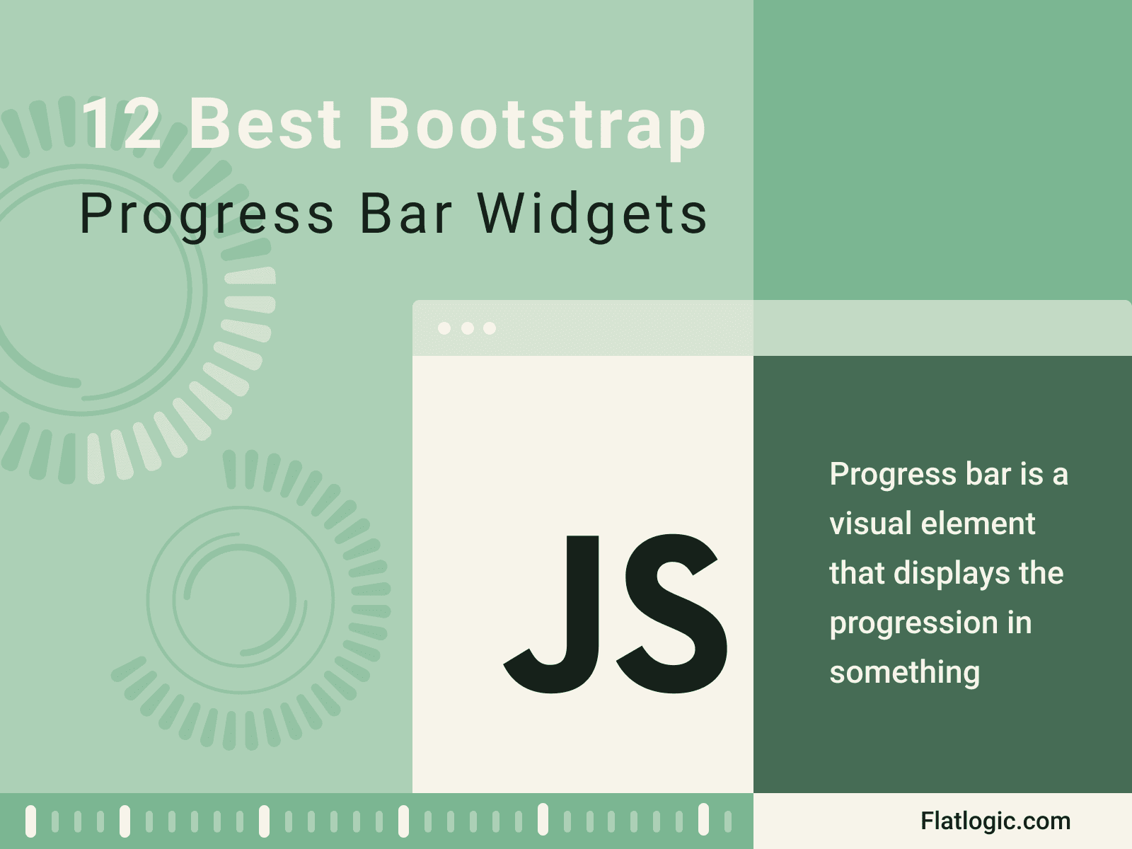 12 Best Bootstrap  Progress Bar Widgets