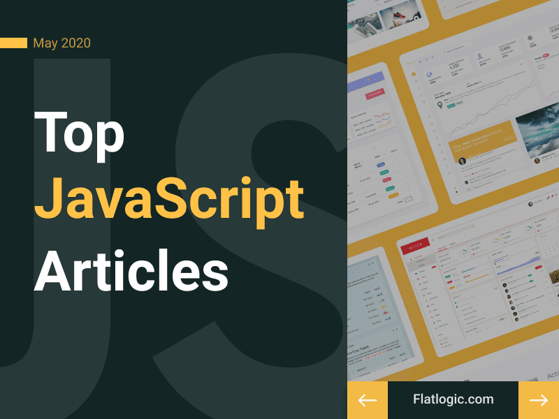 17+ Articles of May to Learn JavaScript