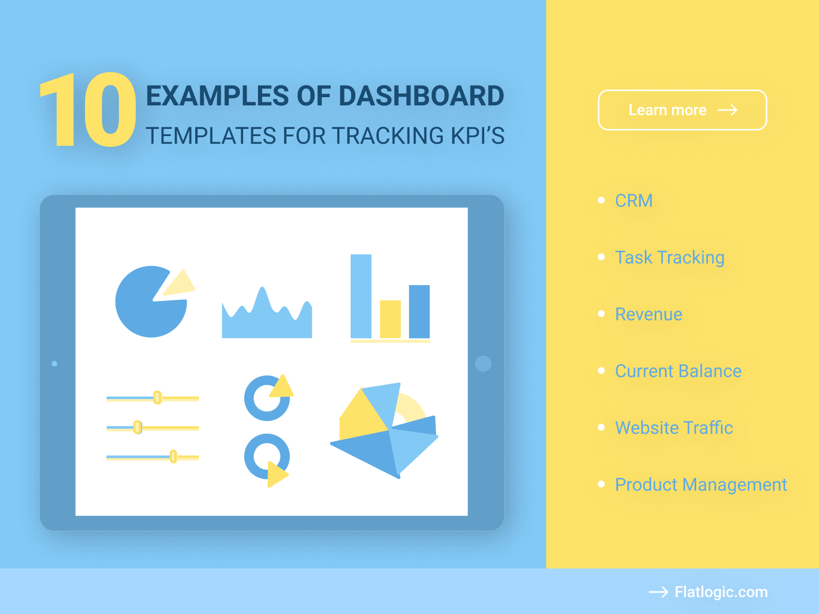 10+ Examples of Dashboard Templates for Tracking KPI's