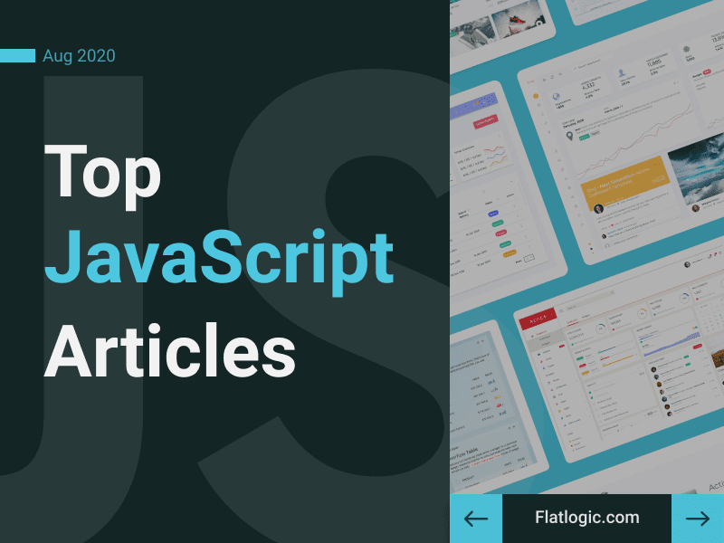 Top 18+ Articles of August to Learn JavaScript