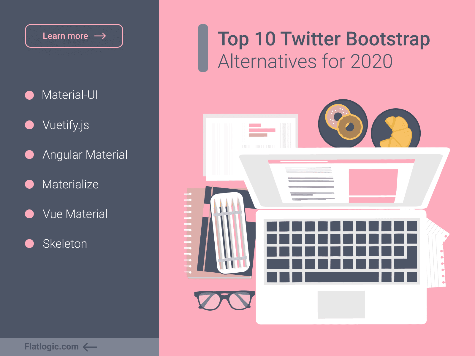 Top 10 Twitter Bootstrap Alternatives for 2020