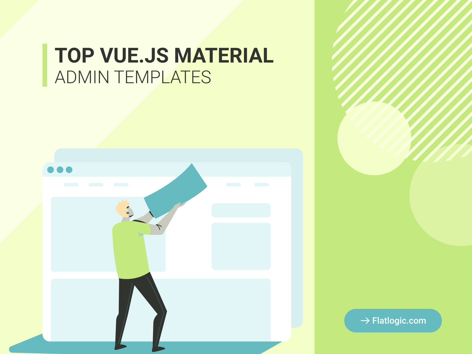 Top 7 Awesome Vue Material Admin Dashboard Templates Worth Your Attention