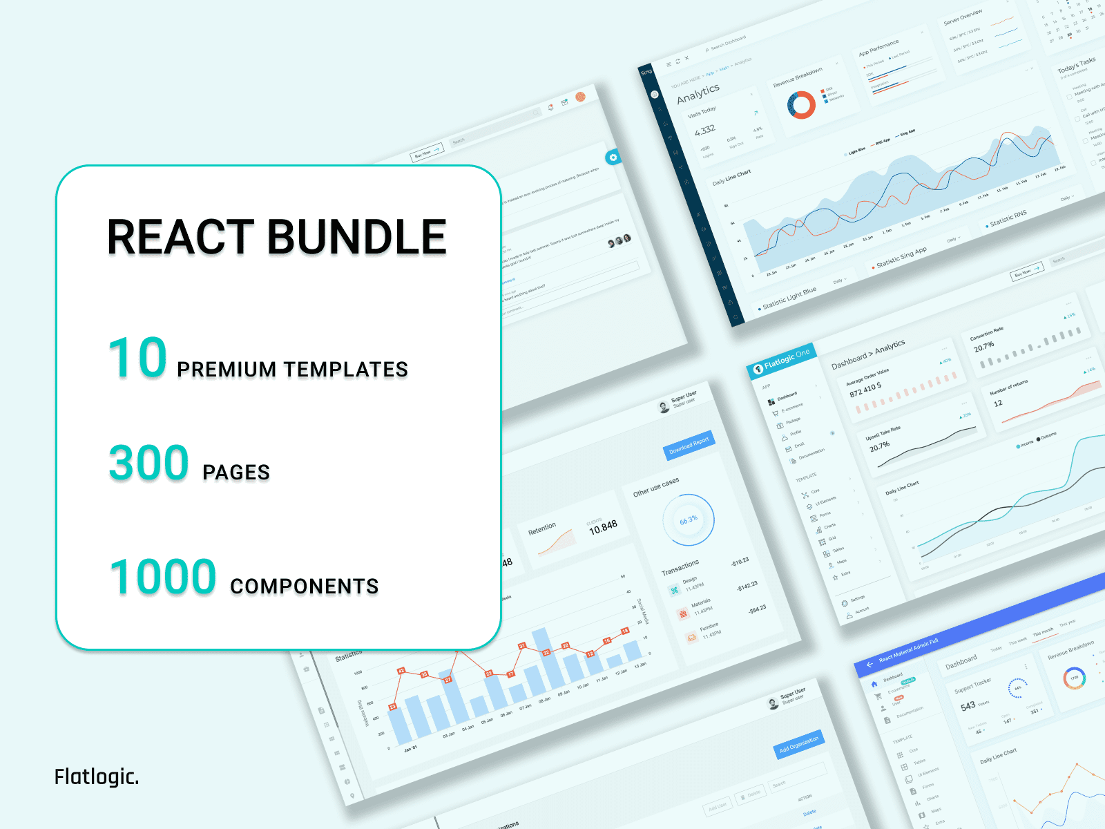 Huge React Themes Bundle is Released!