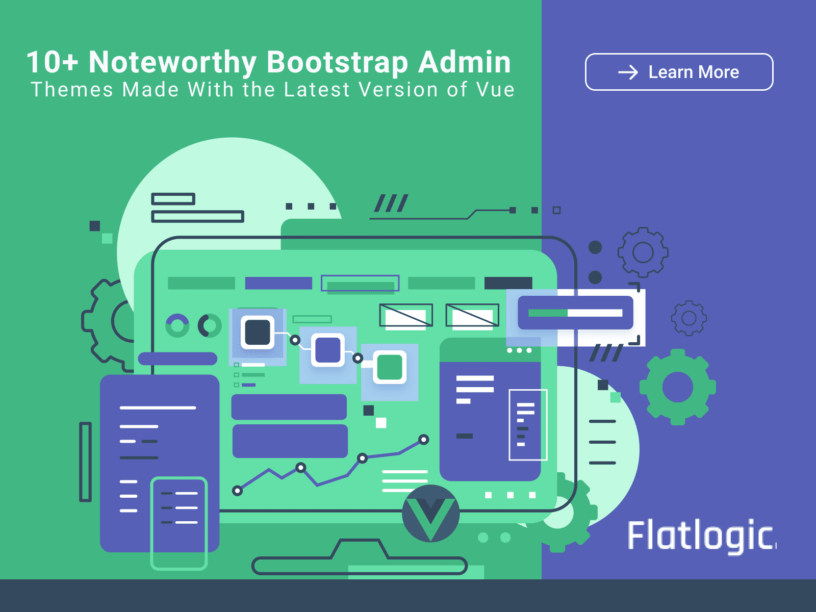 10+ Noteworthy Bootstrap Admin Themes Made With the Latest Version of Vue