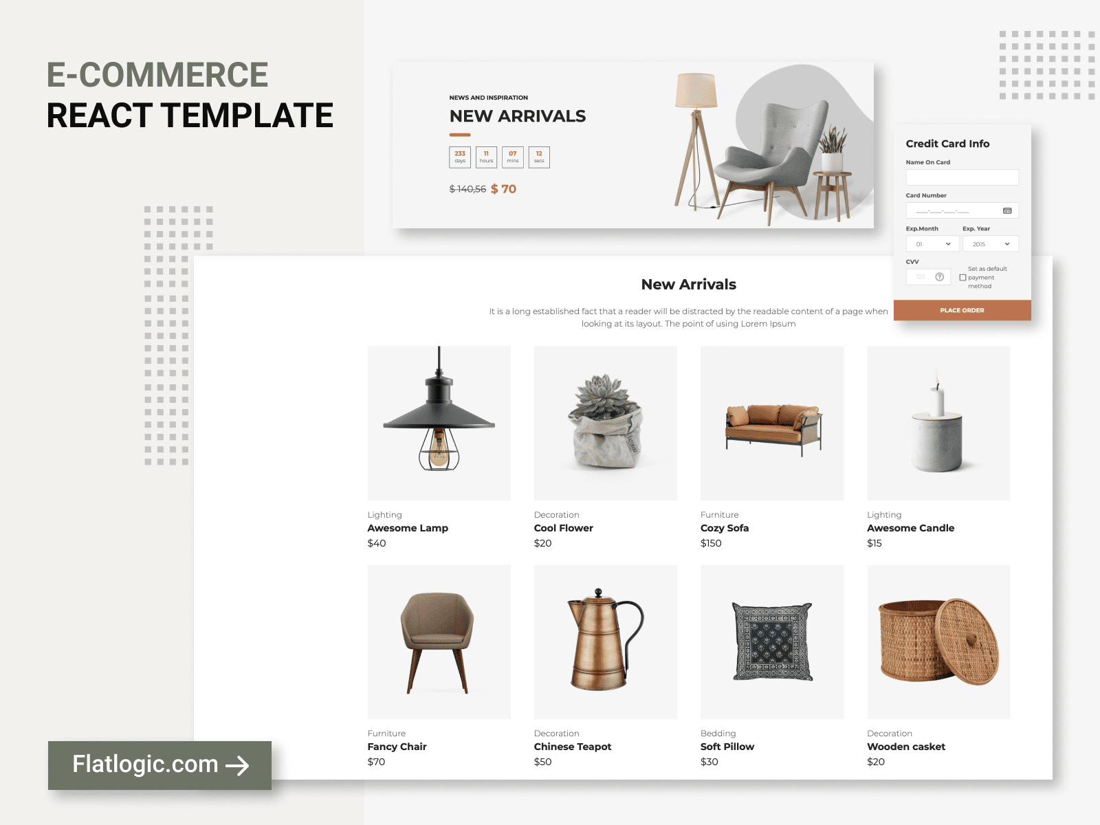 Ready-to-use e-Commerce Template is Released!