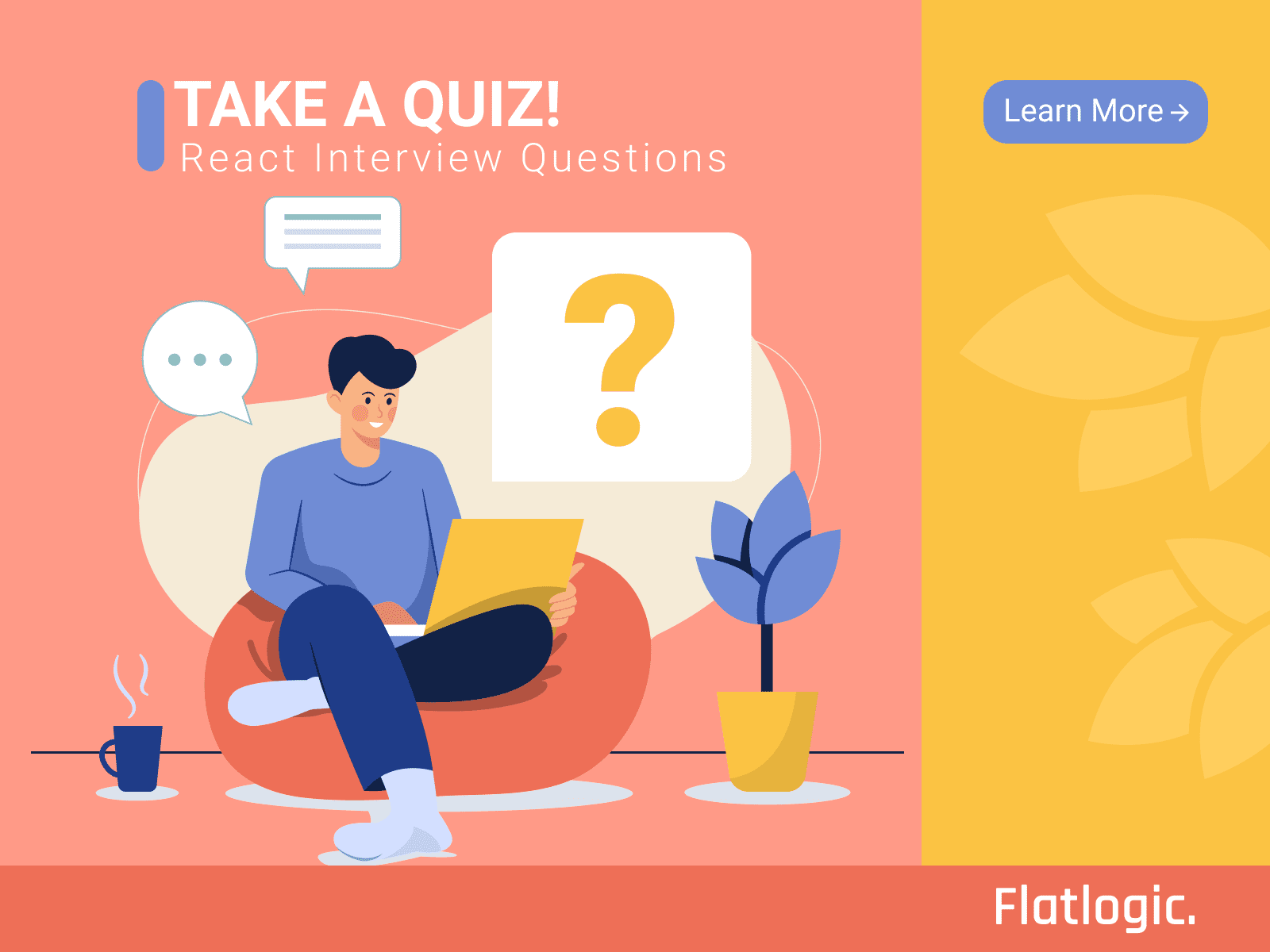 Take The Quiz! Top 20 React.js Interview Questions